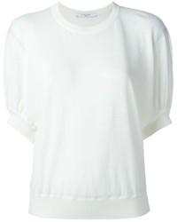 Jersey de manga corta blanco de Givenchy