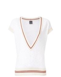 Jersey de manga corta blanco de Lorena Antoniazzi