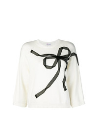 Jersey de manga corta en blanco y negro de RED Valentino