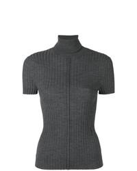 Jersey de manga corta en gris oscuro de Chloé