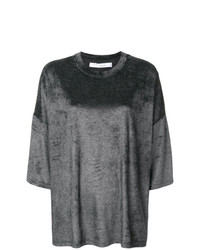 Jersey de manga corta en gris oscuro de IRO