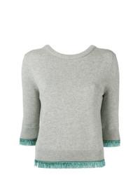 Jersey de manga corta gris de Chloé