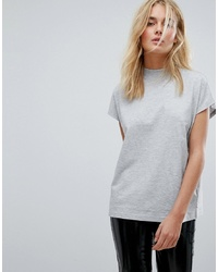 Jersey de manga corta gris de Weekday
