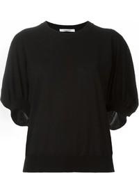 Jersey de manga corta negro de Givenchy
