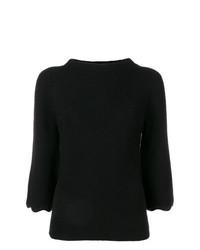 Jersey de manga corta negro de RED Valentino
