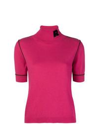 Jersey de manga corta rosa de Rochas