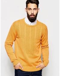 Jersey de ochos amarillo de Asos