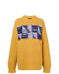 Jersey de ochos amarillo de Calvin Klein 205W39nyc