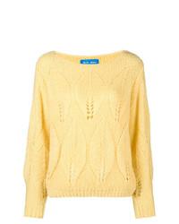 Jersey de ochos amarillo de MiH Jeans