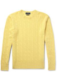 Jersey de ochos amarillo de Polo Ralph Lauren