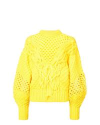 Jersey de ochos amarillo de Prabal Gurung
