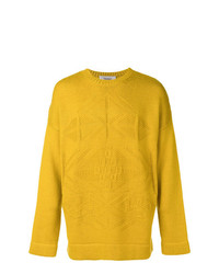 Jersey de ochos amarillo de Pringle Of Scotland
