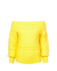 Jersey de ochos amarillo de Tanya Taylor