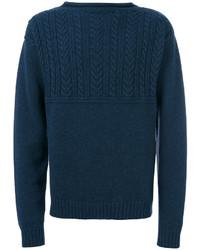 Jersey de ochos azul marino de Maison Margiela