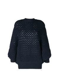 Jersey de ochos azul marino de Stefano Mortari
