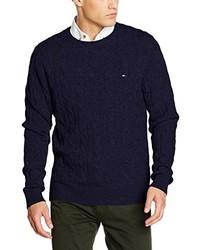 Jersey de ochos azul marino de Tommy Hilfiger