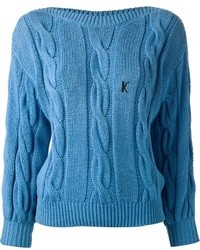Jersey de ochos azul