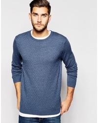 Jersey de ochos azul de Asos
