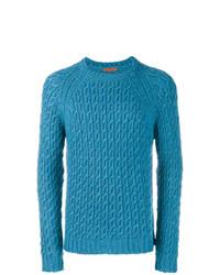 Jersey de ochos azul de Barena