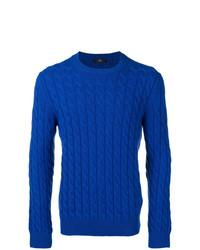 Jersey de ochos azul de Fay
