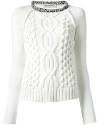 Jersey de ochos blanco