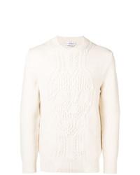 Jersey de ochos blanco de Alexander McQueen