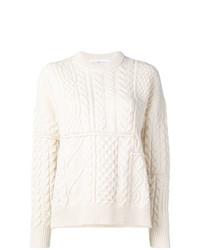 Jersey de ochos blanco de Golden Goose Deluxe Brand