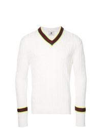 Jersey de ochos blanco de Kent & Curwen