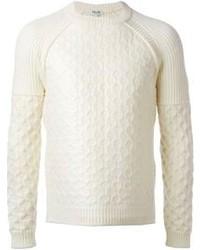 Jersey de ochos blanco de Kenzo