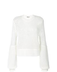 Jersey de ochos blanco de McQ Alexander McQueen