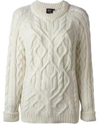 Jersey de ochos blanco de McQ by Alexander McQueen