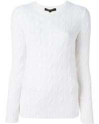 Jersey de ochos blanco de Ralph Lauren