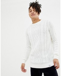 Jersey de ochos blanco de YOURTURN