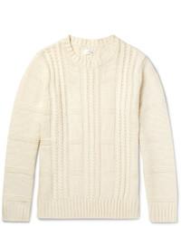 Jersey de ochos en beige de Gant