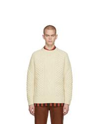 Jersey de ochos en beige de Levis Vintage Clothing