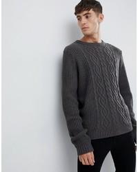 Jersey de ochos en gris oscuro de D-struct