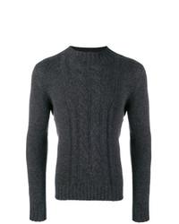 Jersey de ochos en gris oscuro de Tagliatore