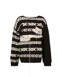 Jersey de ochos en marrón oscuro de Calvin Klein 205W39nyc