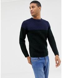 Jersey de ochos en multicolor de Burton Menswear