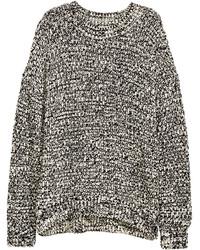 Jersey de ochos en negro y blanco