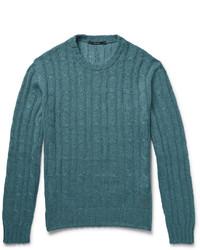 Jersey de ochos en verde azulado de Gucci