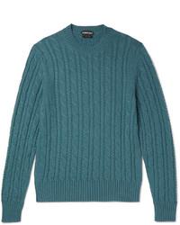 Jersey de ochos en verde azulado de Tom Ford