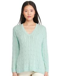 Jersey de ochos en verde menta