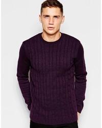 Jersey de ochos en violeta de Asos