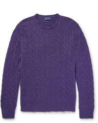 Jersey de ochos en violeta de Polo Ralph Lauren