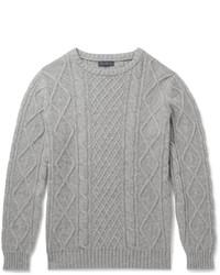 Jersey de ochos gris