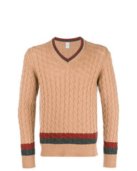 Jersey de ochos marrón claro de Eleventy