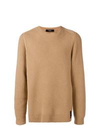 Jersey de ochos marrón claro de Fendi