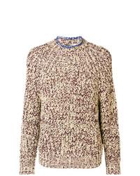 Jersey de ochos marrón claro de Isabel Marant