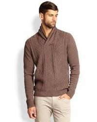 Jersey de ochos marrón